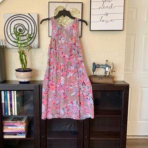 Rebecca Taylor Floral Mini Racerback Dress size 2